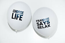 80s Party Decorations - 80s Slogan Balloons x 10 - 5 of Each Slogan - 12""