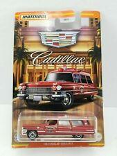 Matchbox 2021 Cadillac Series #04 ~ 1963 Cadillac Ambulance GWH00 ~ SAVE SHIP 2+