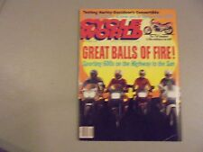 SEPTEMBER 1989 CYCLE WORLD MAGAZINE,SPORTING 600S,MX OPEN CLASS SHOWDOWN,H-D CON