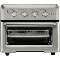 Cuisinart Air Fryer 2 Layer Toaster Oven - Silver- Refurbished #CTOA120FR