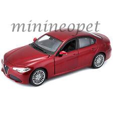 BBURAGO 18-21080 ALFA ROMEO GIULIA 1/24 DIECAST MODEL CAR RED
