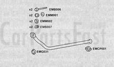 EXHAUST SILENCER PEUGEOT 306 Break (7E, N3, N5) 1.9 TD Diesel 1997-02-> 2002-04