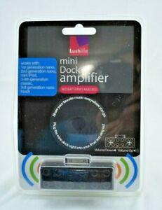 Lushlife - Mini Dock Amplifer (Black) - New in Package