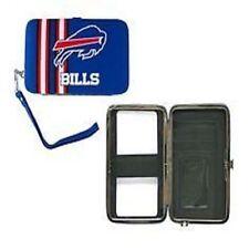 Buffalo Bills Distressed Logo Hard Shell Wristlet