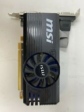 MSI ATI AMD RADEON 2GB RAM PCI-EX16 HDMI/DVI/VGA (OFFERS WELCOME)(R-3-18-1)
