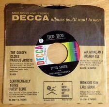 Ethel Smith 45 Tico Tico / Lero Lero/Bem Te Vi Atrevido  organ music
