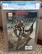 Dark Avengers #1 1:50 Adi Granov Variant CGC 9.6