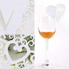 Articles d'arts de la table en verre pour le mariage