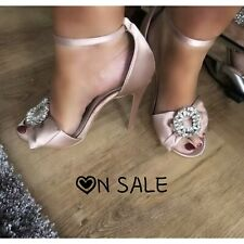 Women's Pink shoes by Forever 21 ladies wedding high heels stilettos size 6