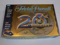 Trivial Pursuit Board Game 20th Anniversary Edition Parker Brothers Complete USA