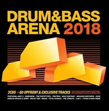 Various - Drum and Bass Arena 2018 BRAND NEW 3CD