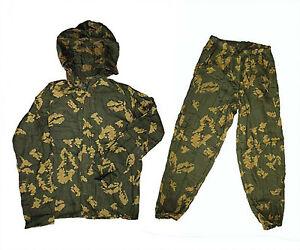Kzs Soviet Russian Military Army Spetsnaz Camo BDU Suit Jacket Pants SALE!