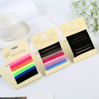 8PCS Hair Band Ties Rope Ring Elastic Rubber Hairband Ponytail Holder Gieee ATCA