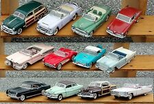 ONE BROCHURES ONLY FROM THE CLASSIC CARS OF THE 50' (MAKE SELECTION)!