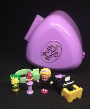 Polly Pocket Mini 💚 1991 perfect Piano Recital Anello CASE 7.4.