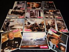 S.O.S TITANIC  jeu 12 photos cinema lobby cards  1979