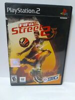 FIFA Street 2 Sony PlayStation 2 PS2 Complete FREE FAST Shipping Fun Futbol