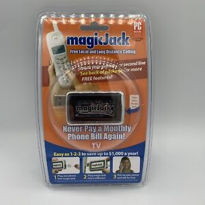 Magic Jack Phone System As Seen on TV New And Sealed