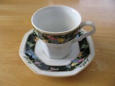 4 SETS OF CHRISTOPHER STUART ORCHARD PARK Y0012 CUPS AND SAUCERS FREE SHIPPING