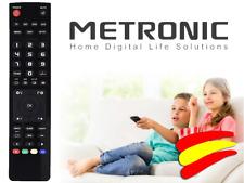 Mando a distancia para Televisión TV LCD Decodificador SAT METRONIC