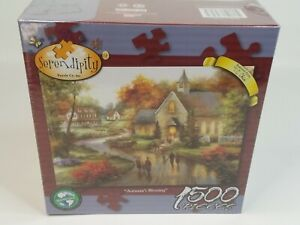 """Serendipity Autumn's Blessing 1500 Piece Jigsaw Puzzle 24"""" X 33"""""""