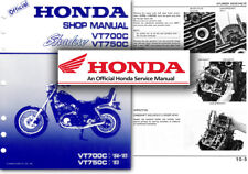 Honda VT750C VT700C Shadow Service Workshop Repair Manual VT 700 750 C VT750
