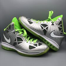 huge selection of 7bd43 63910 Nike Lebron 8 P.S. Dunkman Metallic Silver Electric Green SZ 11.5  441946-002 VII