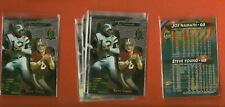 JOE NAMATH/STEVE YOUNG >LOT of 10< 1996 Topps National Sports Convention Promo