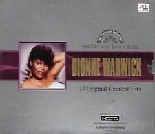 The Very Best of Dionne Warwick 19 Original Greatest Hits CD HDCD Music NEW