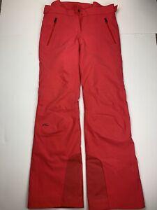 KJUS Formula Ski Pants Waterproof, Insulated women sz S EU 38 Red