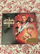 Star Wars The Phantom Menace Episode 1 Widescreen Video Collectors Edition New
