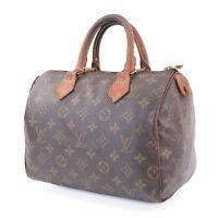 Authentic LOUIS VUITTON Speedy 25 Monogram Boston Hand Bag Purse #30483