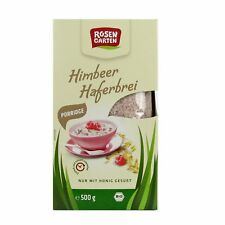 (9,98/kg) Rosengarten Porridge Himbeer Haferbrei bio 500 g
