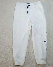 Air Jordan Jumpman Sweatpants White Putple AA1454-101 U.S Men Size Large