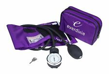 New PURPLE Adult BP Cuff Blood Pressure Kit With Matching Seperate Stethoscope