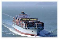 ap1084 - Container Ship - Cosco Yokohama , built 2004 - photo 6x4