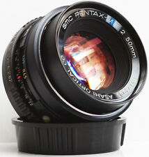 Pentax 50mm F/2 SMC K PK Mount Prime Lens For DSLR M4/3 Camera + Samples