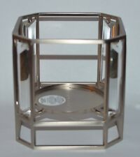 BATH & BODY WORKS AIRY GEM METAL FRAME LARGE 3 WICK CANDLE HOLDER SLEEVE 14.5 OZ