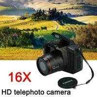 Digital HD SLR Camera 2.4 Inch TFT LCD Screen 720P/30fps 16X Anti-shak Top S5I6