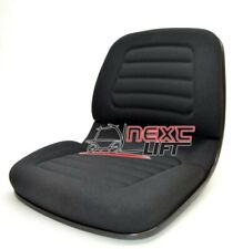 New Hyster Oem Style Cloth Forklift Seat Molded 1351432 S50xm S60xm E50xm E60xm