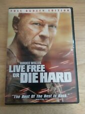 Die Hard 4: Live Free or Die Hard (Dvd, 2007) Bruce Willis - Free Shipping