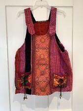 Hippie Style Multicoloured Ethnic Dress