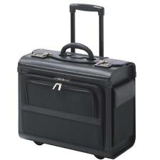 Pilotenkoffer Pilotentrolley Koffer mit Notebookfach bis 16 Zoll Polyester-Mix