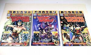 WalMart DC 100-Page Giant Wonder Woman #1 , #4, #6 - NM 3 BOOK LOT Very Nice Set