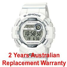 CASIO G-SHOCK G-SQUAD BLUETOOTH STEP TRACKER WATCH GBD-800-7 WHITE 2Y WARRANTY