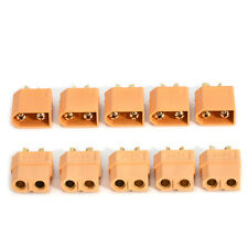 10pcs Set XT60 High Quality Male/Female Bullet Connectors Plugs For RC Battery
