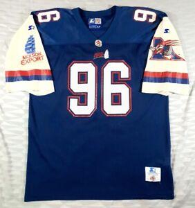 VTG Montreal Alouettes Canadian Football #96 Football-CFL Starter Jersey SizeXL