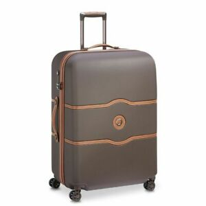 Delsey Chatelet Air 77cm Large Luggage - Chocolate