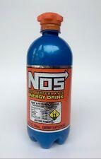 NOS Energy Drink 22 Oz Bottle .1 Single Discontinued Rare Bottle