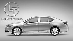 Acura ILX Stainless Steel Chrome Pillar Posts by Luxury Trims 2013-2017 (6pcs)